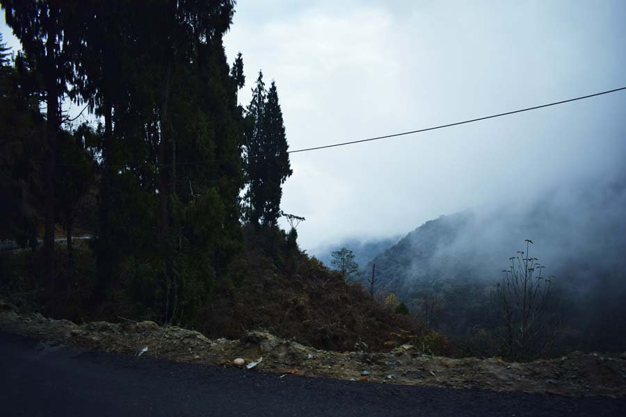 Road to Dirang from Bhalukpong