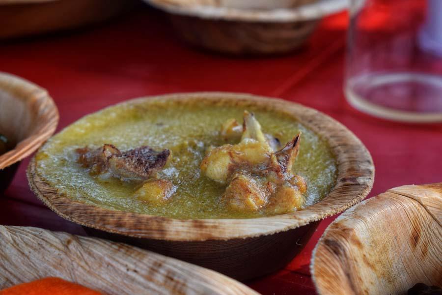 Bodo cuisine chicken dish
