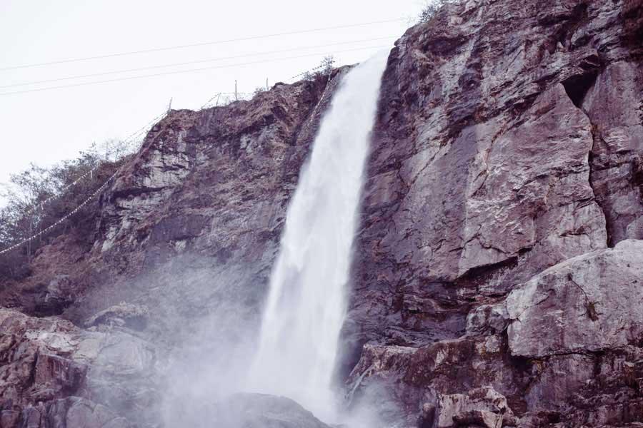 Nuranang falls in tawang, Arunachal Pradesh. Tawang blog
