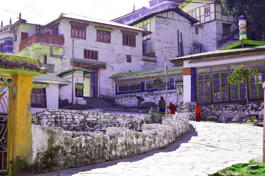 Tawang monastery the monk's hostel