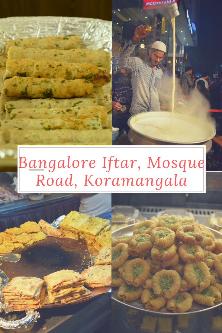Bangalore mosque Road Iftar