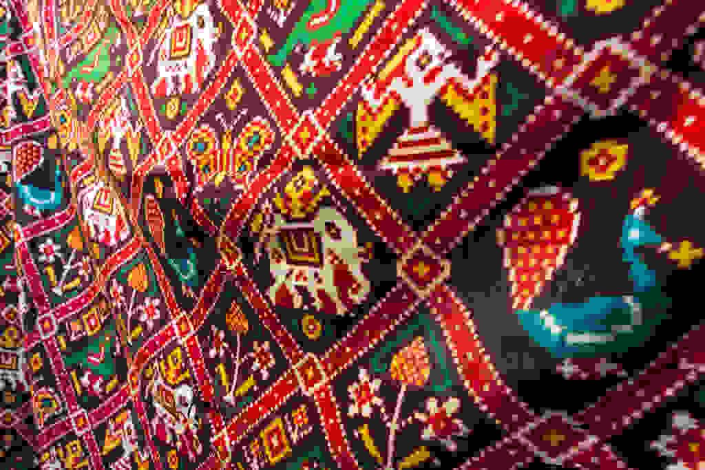 Indian textile travel