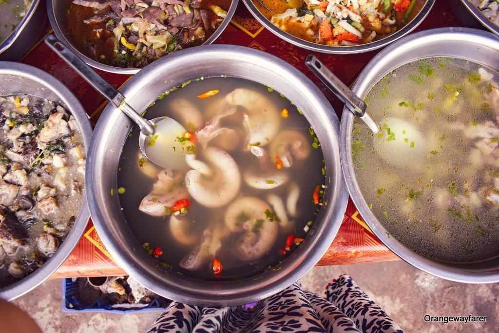 street food of Laos