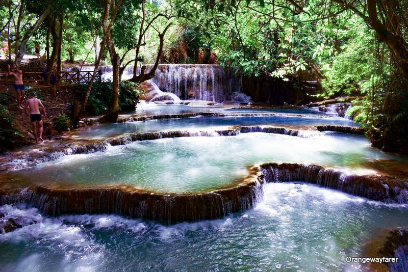 Kuang Si Water Fall: day trip from Luang Prabang