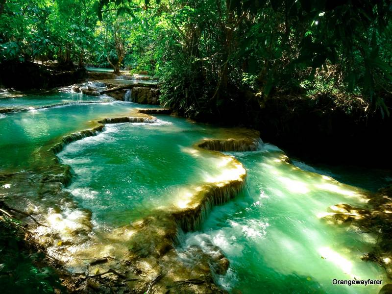 Kuang Si waterfall Travel Guide, Laos