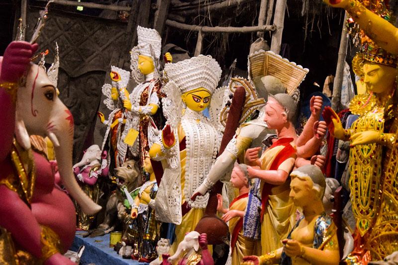 Kumartuli Photo blog: kumartuli Durga Pratime: beautiful Durga Image from Kolkata