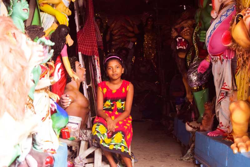 Kumartuli next generation: female artisans