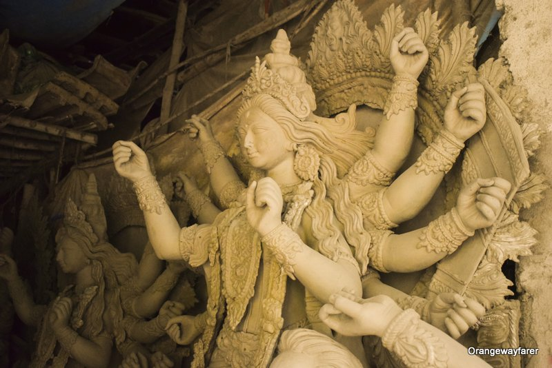 kumartuli Durga Pratima: beautiful Durga Image from Kolkata