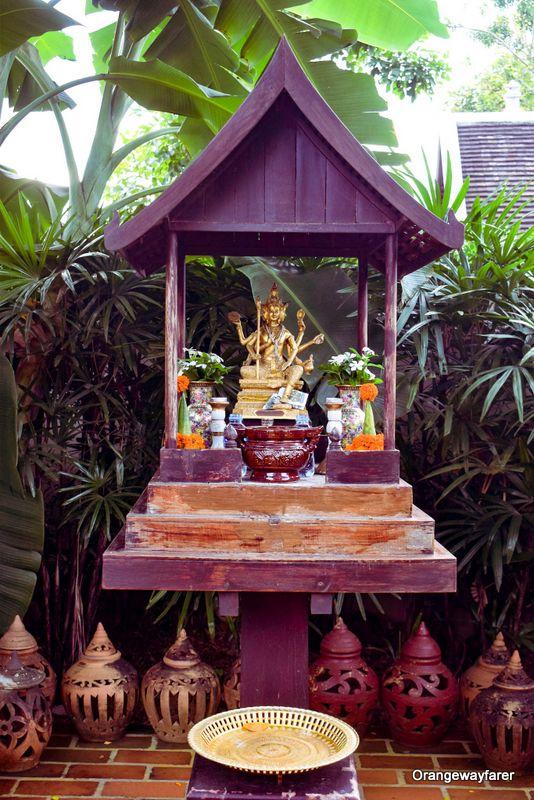 Laotian spirit house