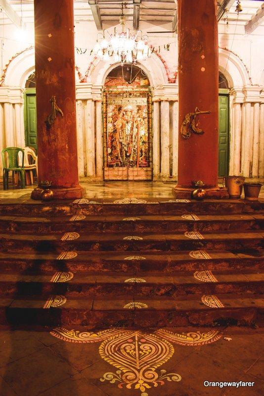 Bonedi barir durga puja 2019. Old Jamindar bari of Kolkata