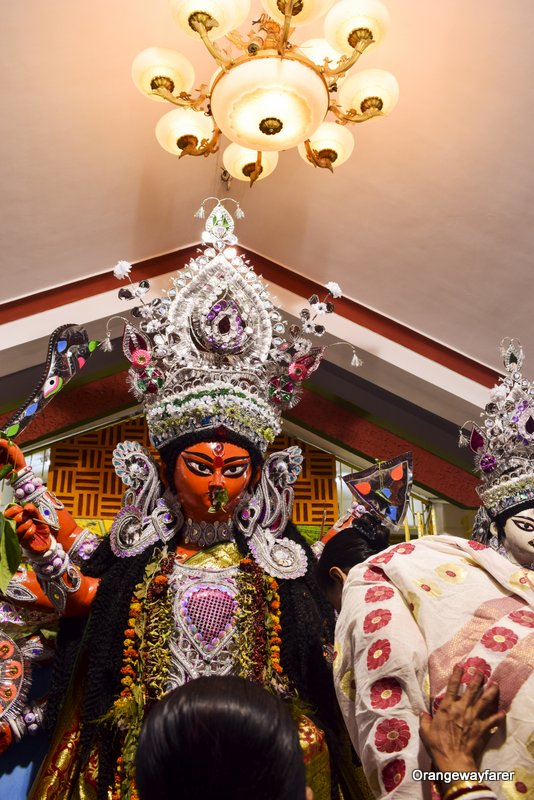 Bonedi barir durgapuja in Behala