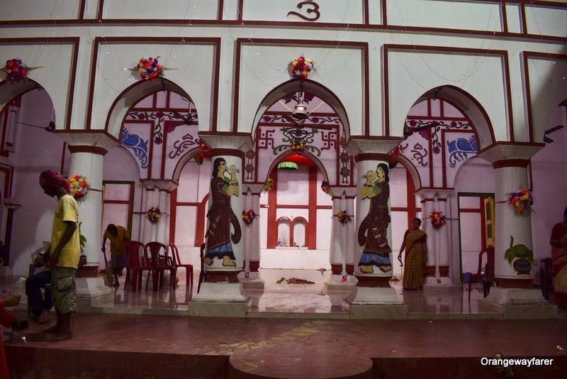 Thakurdalan at Sabarna roychowdhury bari