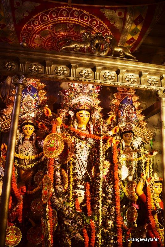 Dutta Bari, Sabeki Durga Pratima, Girish Park, North Kolkata