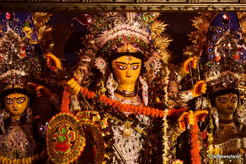 Dutta Bari Durga Maa Idol