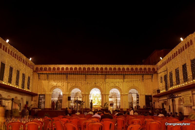 Shovabazar Rajbari durga Puja