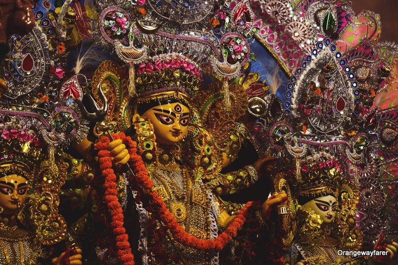 Jorasanko Dawn Bari: Narasimha Dawn Family's Puja