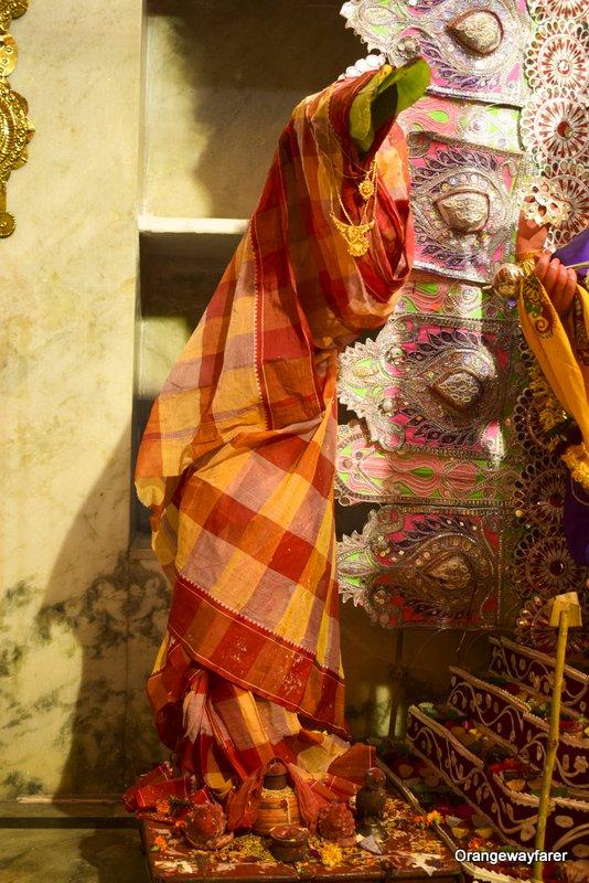 Nabapatrika, Kolabou. Kolkata Durgapuja rituals