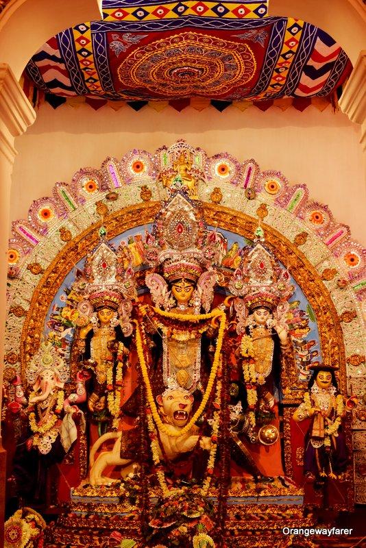 Jorasanko Dawn House. best Kolkata Durgapuja