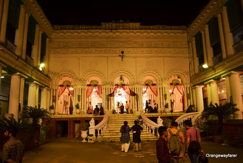 Khelat ghosh mansion, Bonedi bari Durga puja