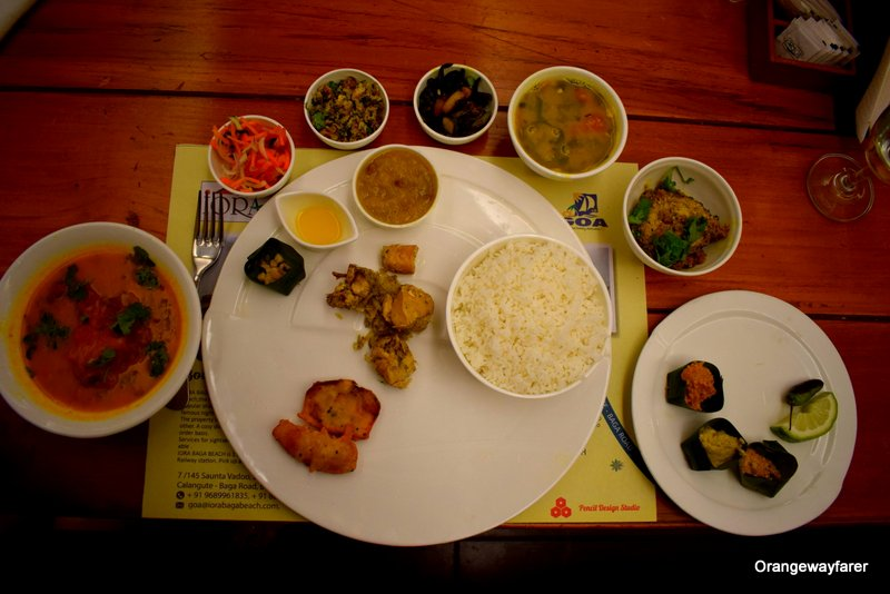Assamese Thali at Iora Resort Kaziranga food