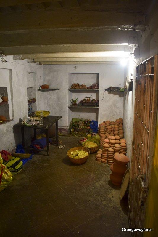 Bonedi barir Durgapuja, bhog prasad. North Kolkata details