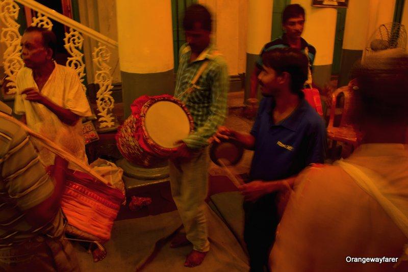Chatubabu-Latubabu Mansion or Ramdulal Nibas. Sabeki durga puja