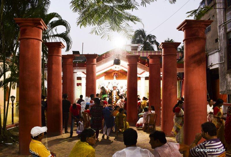 sabarna raychowdhuri Durga puja