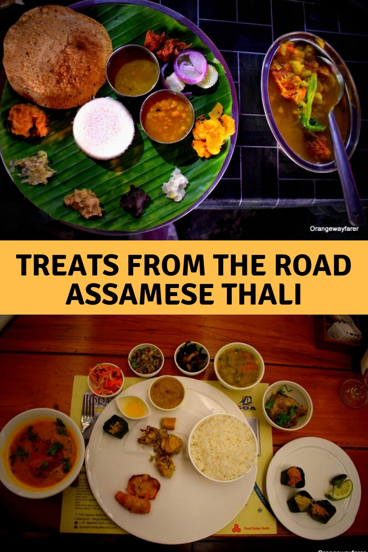 Assamese Thali that you can eat from #northeast #india #assamesethali #regionalcuisine #localfood