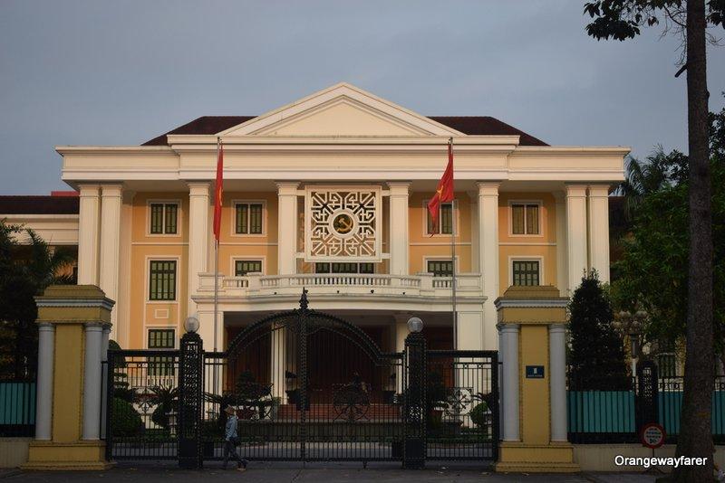 The President's palace Hanoi