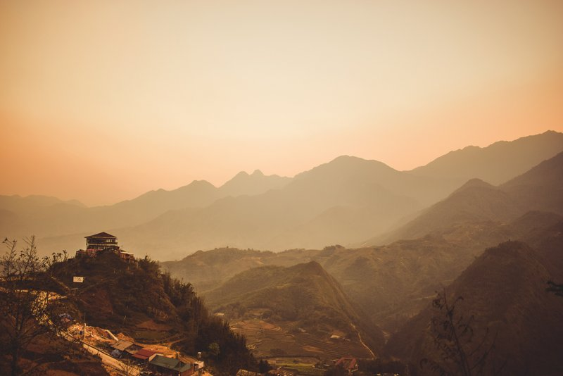 Sapa sunset