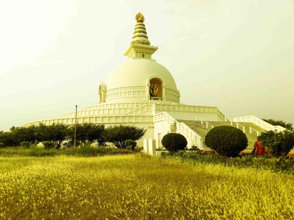 Lumbini peace pagoda