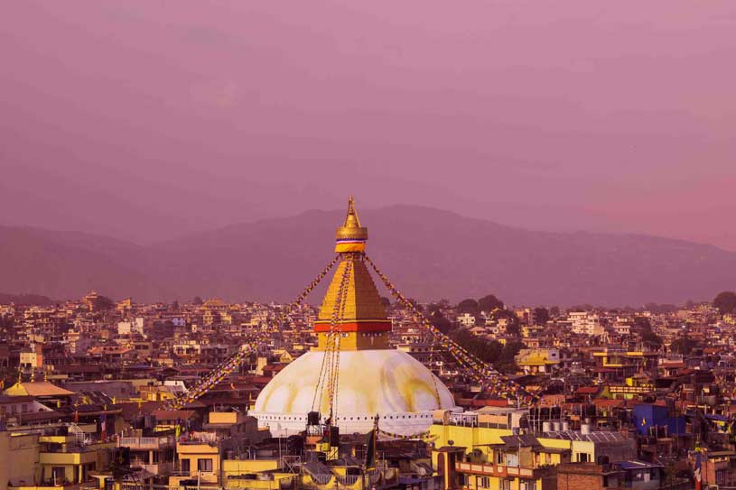 Boudha Stupa in Kathmandu photography