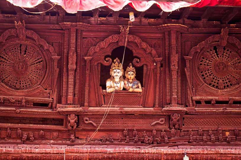Shiv durga temple in Kathmandu, Nepal