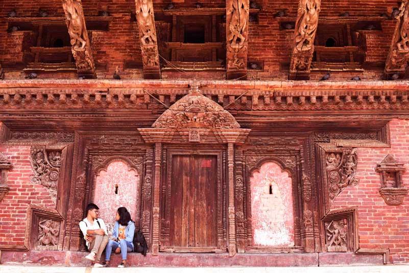 Lovers in Nepal