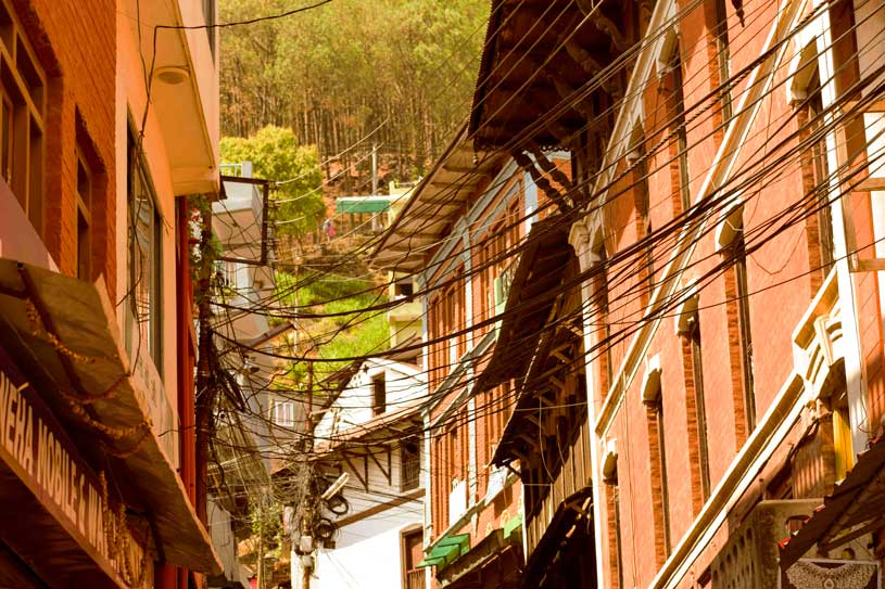 Tansen Village Palpa nepal where many community homestays are found and newari culture is celebrated