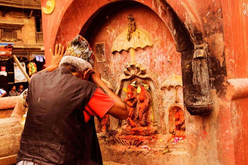 Bhaktapur a day trip from Kathmandu Nepal