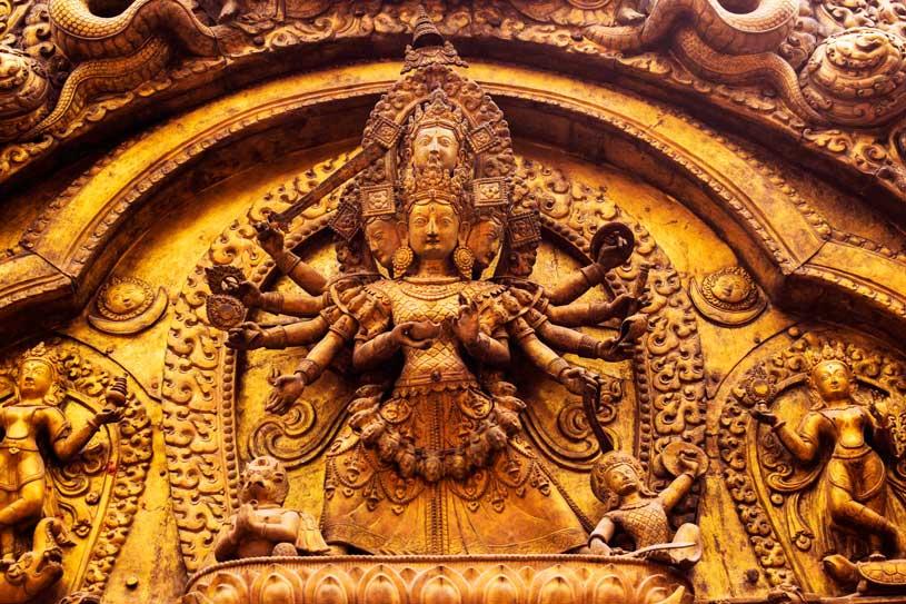 Bhaktapur a UNESCO site Devi Temple