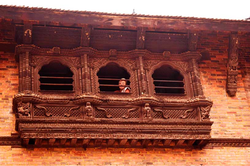 Woodwork in Nepal
