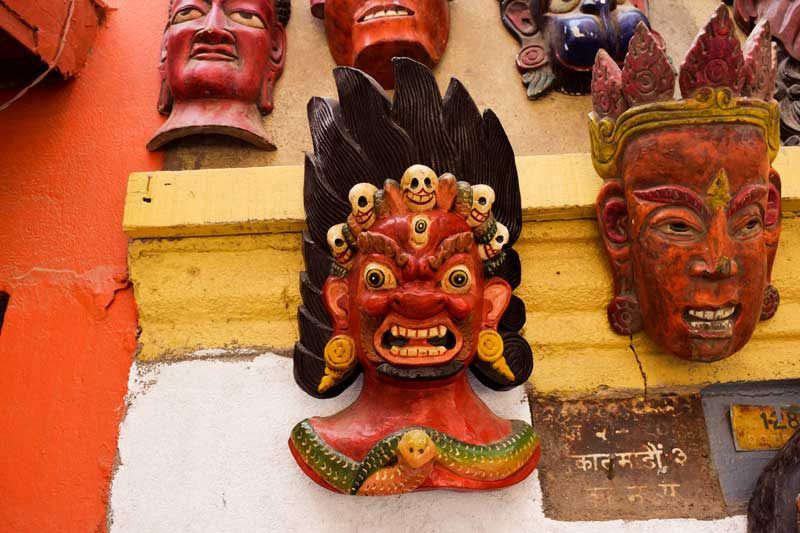 Masks of nepal