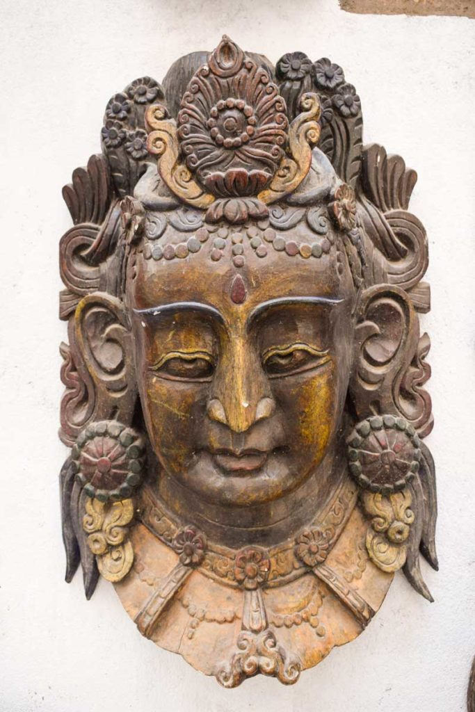 Shiva Mask of nepal