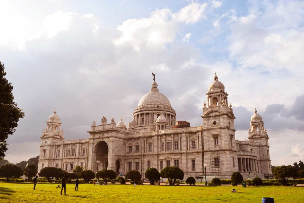The Victoria memorial Kolkata