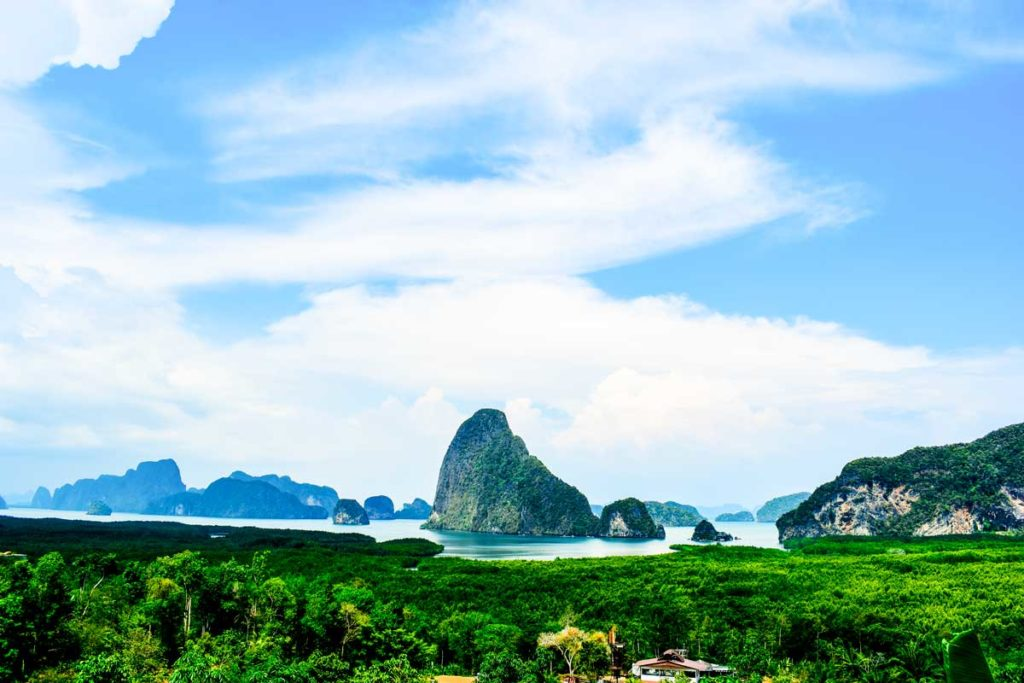 Samet Nangshe View point: Offbeat places to visit in Phang Nga Bay Thailand