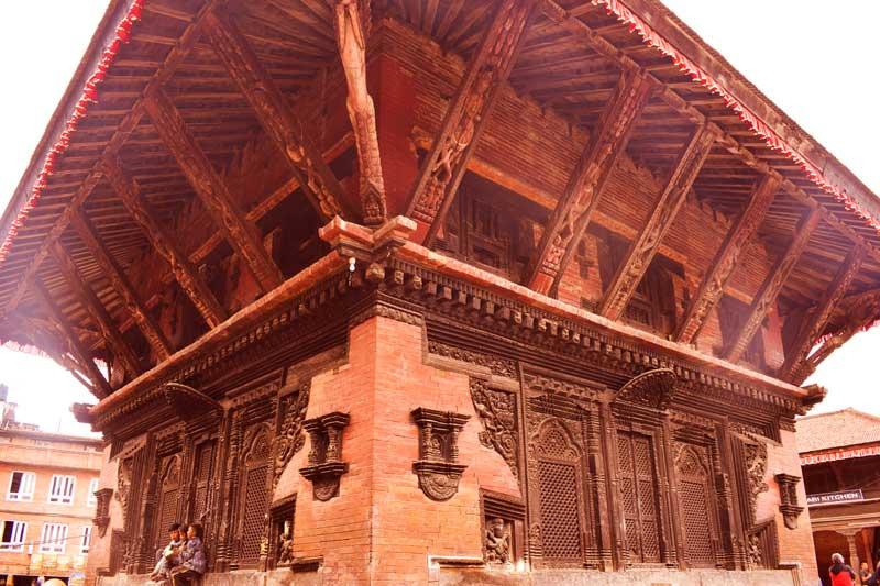 Mini Pashupatinath temple of Bhaktapur Durbar Square