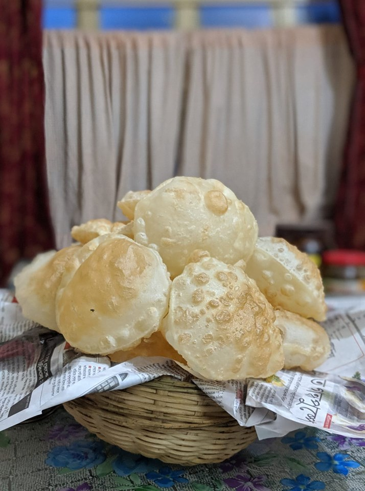 Luchi Bengali Breakfast item in India