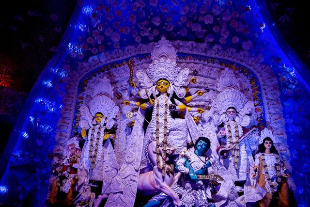 Bengali Durgapuja in Kolkata: Maa durga pandal: ballygunge Cultural