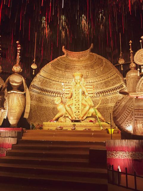 durgapuja festival photo. Maa Durga Idol. #durga #kolkata #kolktaculture #maadurga #kolkataphotography #india #hindufestival #indiaculture #bengalculture #indiafestival #indiatravel #kolkatatravel #goddess