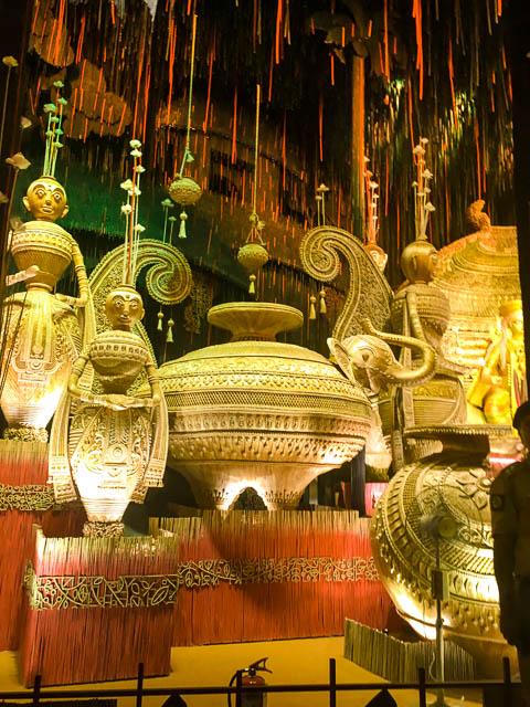 durga puja decoration. maa durga Idol, Kolkata. #durga #kolkata #kolktaculture #maadurga #kolkataphotography #india #hindufestival #indiaculture #bengalculture #indiafestival #indiatravel #kolkatatravel #goddess
