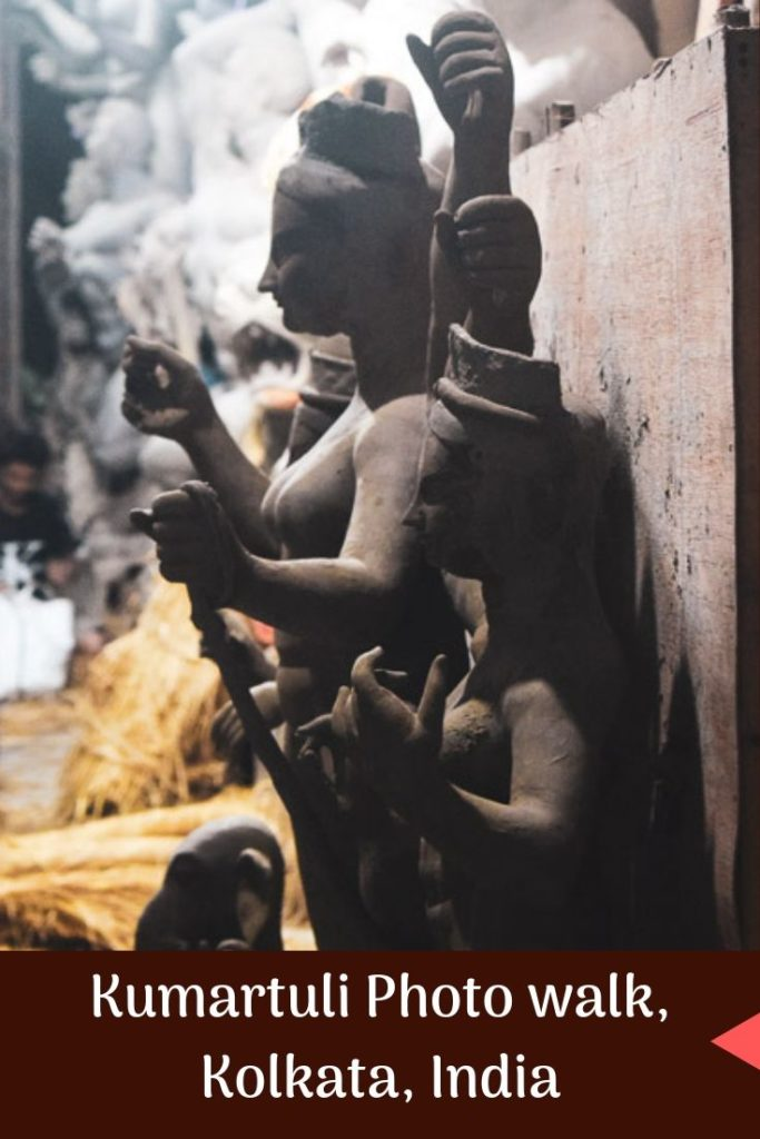 Durga Images in Kumartuli where Durga idols are made in Kolkata. #durgapuja #calcutta #kolkata #kolkataphotography #kumartuli #kolkataphotowalk #northkolkata #westbengal #travelphotography #indiatravel #indiafestivals #Indiaculture #kolkatawalks