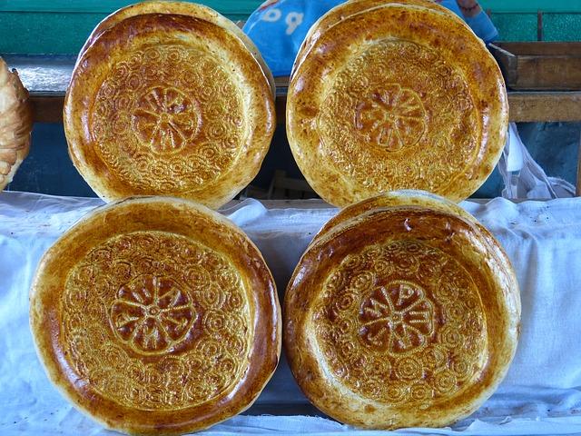 Bread from Uzbekistan