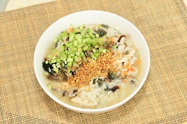 Congee: breakfast in Thailand